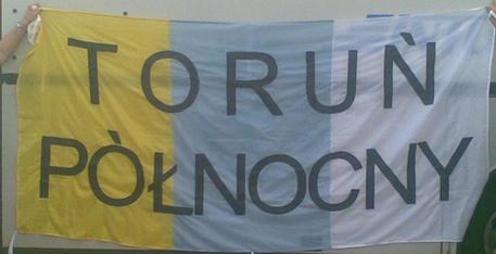 Flaga Toruń Północny